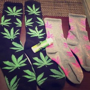 HUF sock bundle His and Hers size M